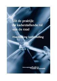 Handreiking Kaderstelling - 2004 - Actieprogramma lokaal bestuur