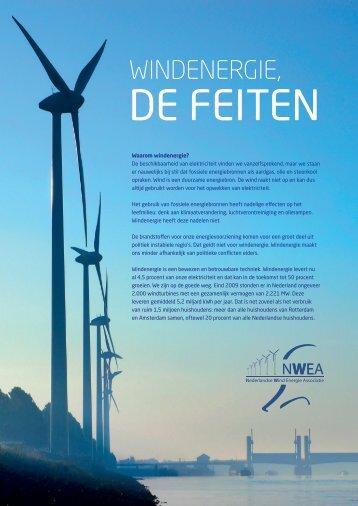 Windenergie, de feiten - NWEA