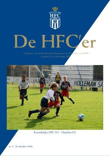 HFC'er 20-10-2008 - Koninklijke HFC