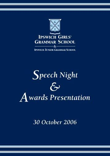 how to give an award presentation speech