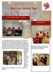 December 2009 - Nærum Skoles hjemmeside