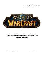 Kommunikation mellem spillere i en virtuel verden.pdf - schjer-brink.dk
