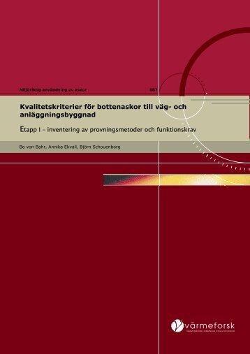 Rapport 867.pdf - Svenska EnergiAskor AB