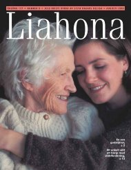 Augusti 2003 Liahona