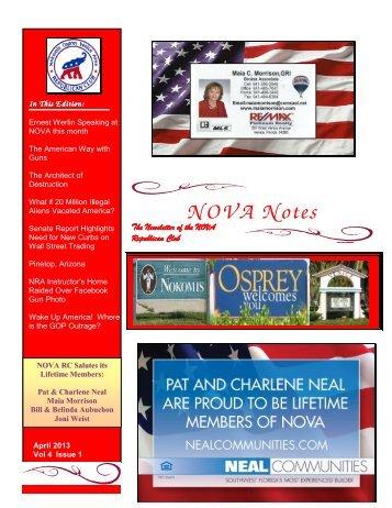 NOVA Notes - Nova Republican Club