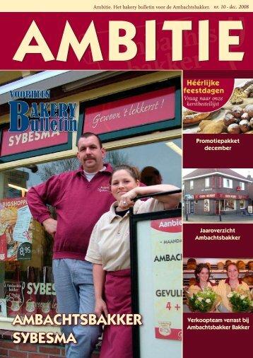 ambitie - Ambachtsbakker