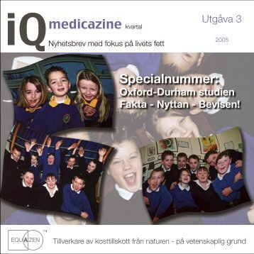 iQmedicazine - Helhetsdoktorn