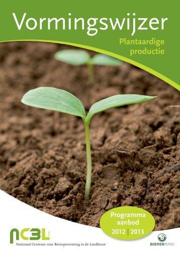 Plantaardige productie - Boerenbond