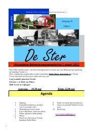 Wijkkrant De Ster, februari 2012 - Buurtcomité Hoogstraat
