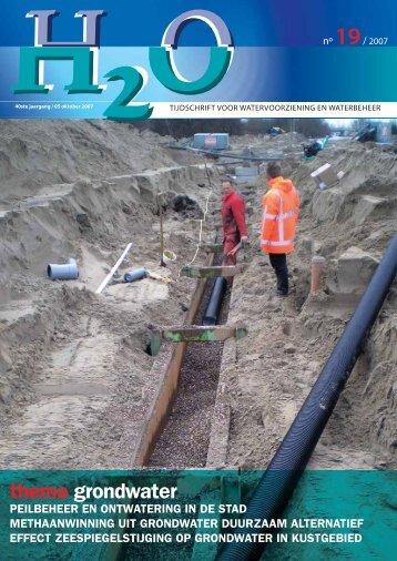thema grondwater - H2O - Tijdschrift voor watervoorziening en ...