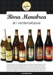 Download beskrivelse af bryggeri og øltyper her - Ølagenterne