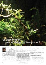 Ur LED är tiden… …men så härligt att leva just nu!
