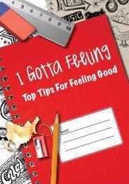 I gotta feeling: Top tips for feeling good - Anna Freud Centre