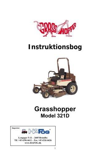Grasshopper 321D - Henrik A Fog A/S