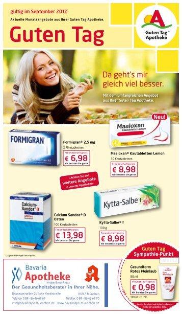 Guten Tag - Bavaria Apotheke