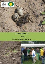 jaarverslag weidevogels 2012 - Duinboeren