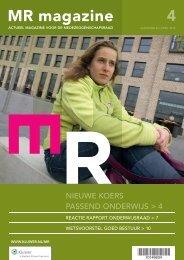 MR magazine 4 2010 - leonie de bruin communicatie