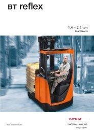 BT Reflex brochure - Toyota Material Handling Belgium