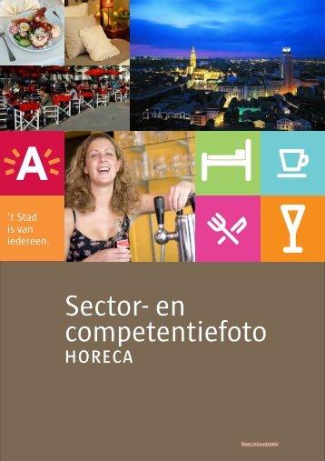 Sector- en competentiefoto horeca Antwerpen - eindrapport - Guidea