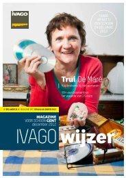 IVAGO-wijzer magazine voor schoon Gent - december 2012