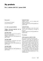 Ny praksis (1/10 2007-1/1 2008)