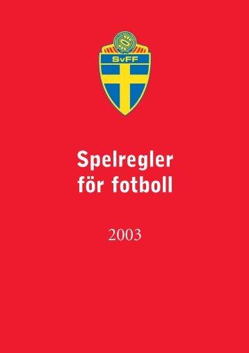 Spelregler för fotboll