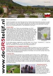 juni 2012 - De GR5 te lijf