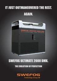 Broschyr U 2000 DMX sid1.ai - Swefog Professional AB