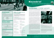 Nieuwsbrief nr 1 2010 - Dorpsraad Heerjansdam