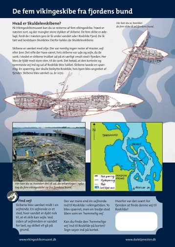 De fem vikingeskibe fra fjordens bund - Vikingeskibsmuseet