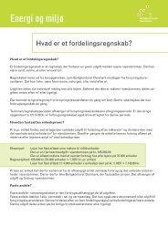 Energi og miljø - Boligkontoret Danmark