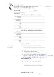 Aanvraagformulier Omtrent het Gedrag (VOG ... - stichting VBV