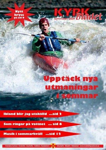 Upptäck nya utmaningar i sommar - Kvistofta församling