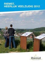 RIEMST, HEERLIJK VEELZIJDIG 2012 - Gemeente Riemst