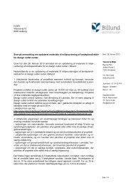COWI Visionsvej 53 9000 Aalborg Svar på anmodning om ... - Net