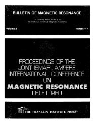 PROCEEDINGS OF THE JOINT ISMAR _ AMPERE ERNATIONAL ...