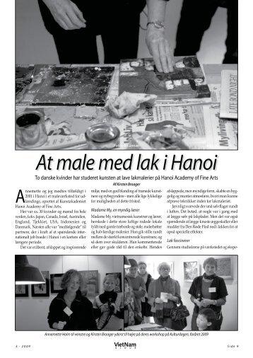 At male med lak i Hanoi - Dansk Vietnamesisk Forening
