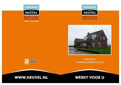 ooruilweg 9 heusden (gemeente asten) - Adriaan van den Heuvel ...