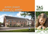 25 rijwoningen [pdf - 4,3 Mb] - TagWest | Genemuiden