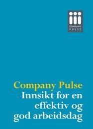 Mer informasjon - Company Pulse AS