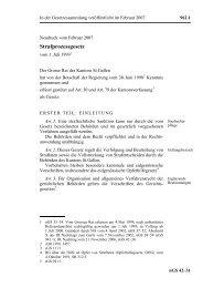 Strafprozessgesetz - Systematische Gesetzessammlung des ...