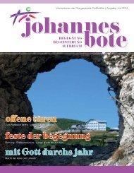 Johannesbote Juni 2013 - Pfarre Großhöflein