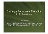 Strategia reducerii riscurilor în Republica Moldova