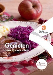 Thuisbezorgd, consumentenfolder - Food Connect