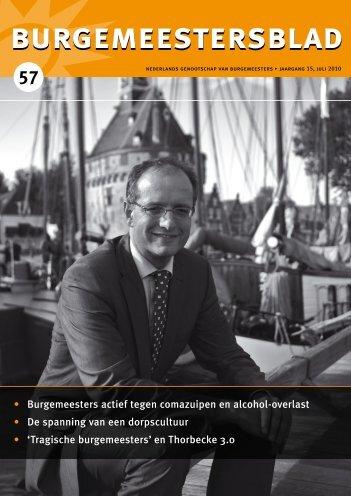 Burgemeestersblad 57 - Nederlands Genootschap van Burgemeesters
