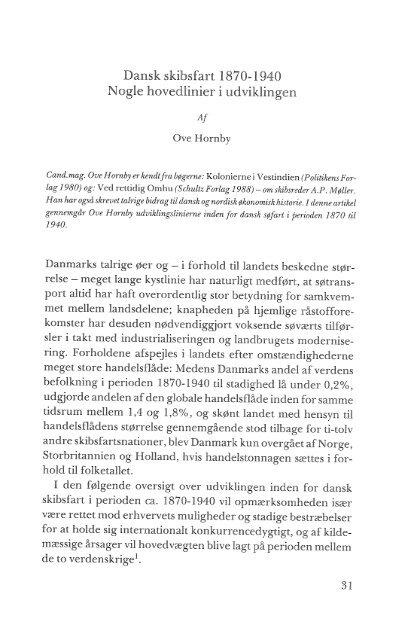 Dansk skibsfart 1870-1940, s. 31-70