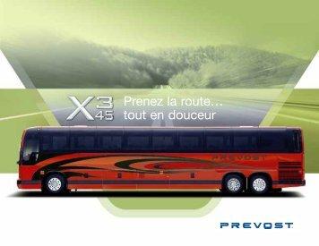 Prenez la route… tout en douceur - Prévost Car Inc.