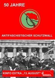 50 Jahre Antifaschistischer Schutzwall - Kommunistische Kunst