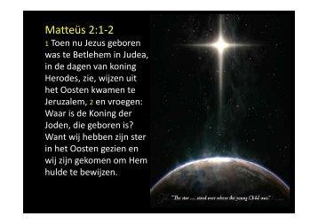 Matteüs 2:1-2