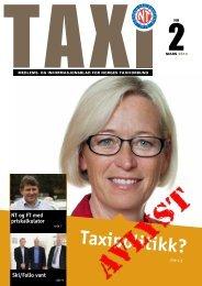 TAXI nr. 2/13 - Norges Taxiforbund
